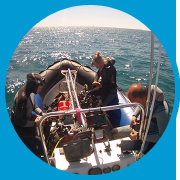 Bateau - Capacité de 22 plongeurs